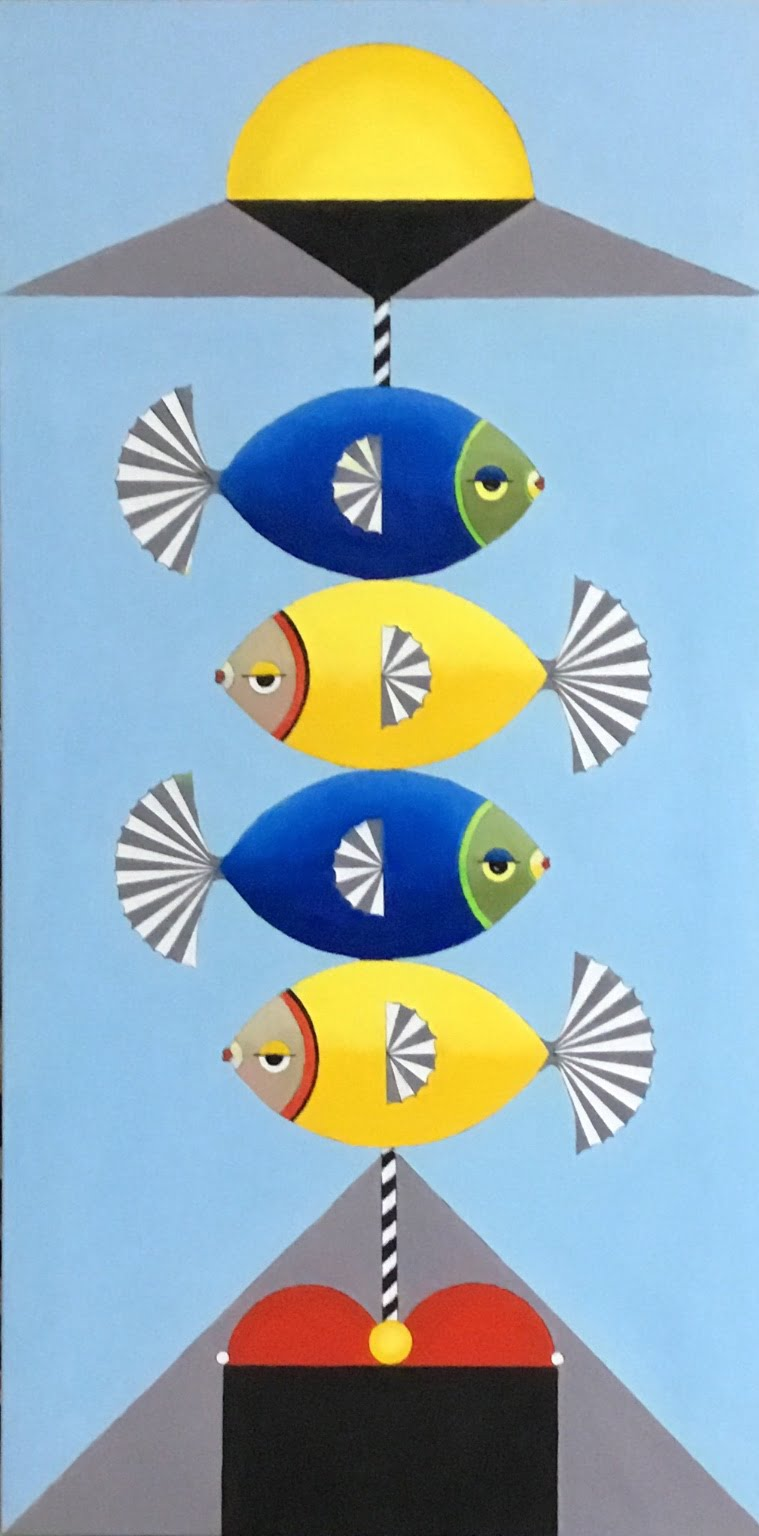 4 Fish on a stick